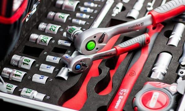 Top caisse à outils complète
