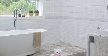 donner un coup de clair à sa salle de bain